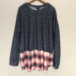 Forever 21 Plus Size Tunic Length Sweater Top 2X